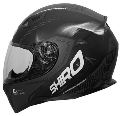 Шлем SHIRO SH881 Motegi Carbon