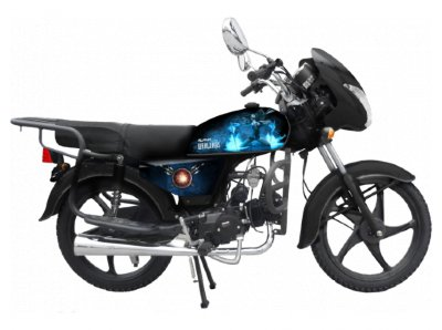 Мопед ALPHA Black Limited Edition STREETFIRE 110cc 4T