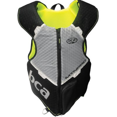 Защита тела BCA MtnPro Vest, взрослые (Black/Yellow, M/L)