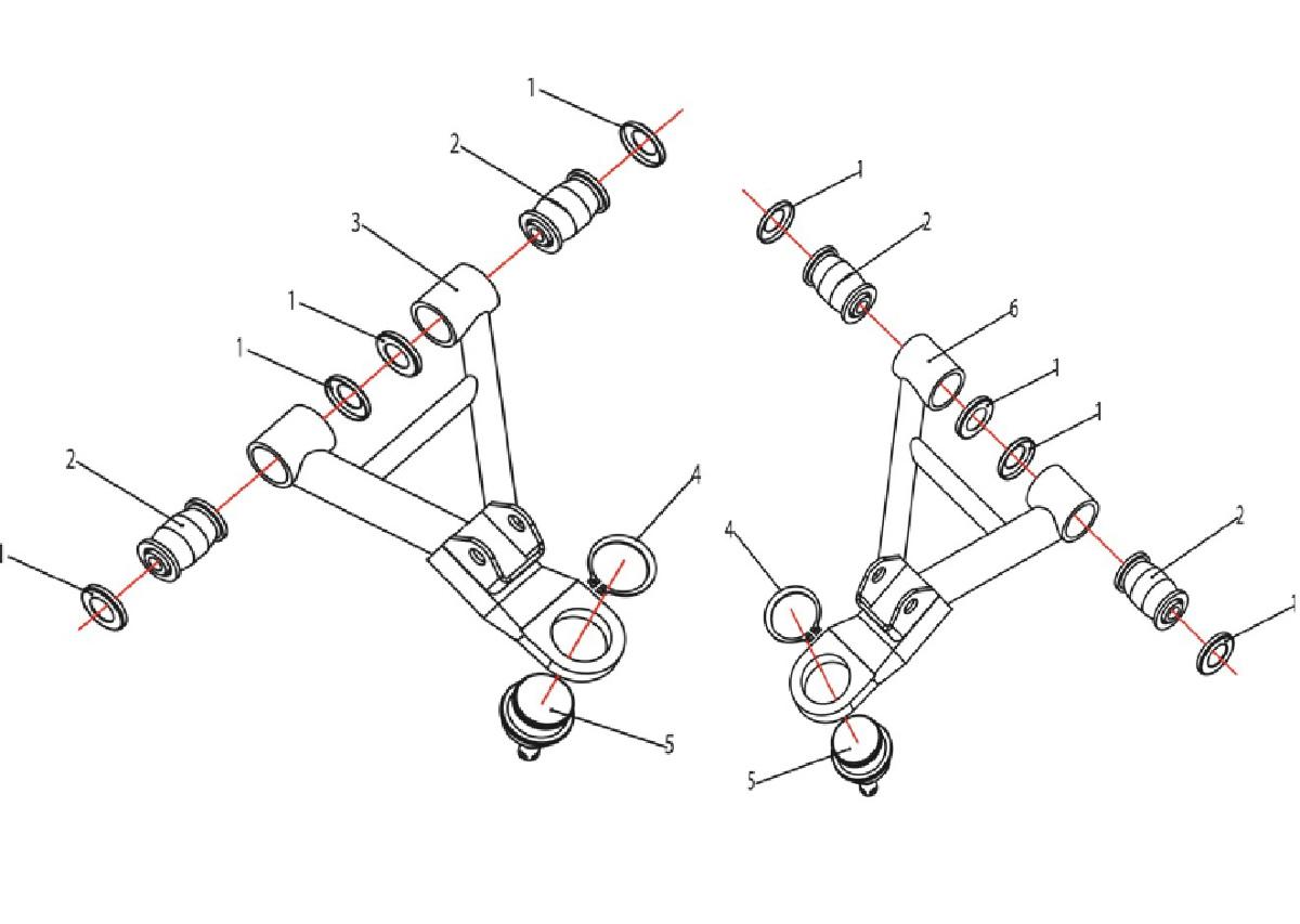 конструкция рычагов передней подвески квадроциклов картинки устрашающего внешнего вида